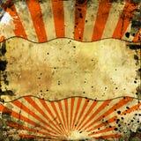 Sunbeams orange grunge Royalty Free Stock Photography