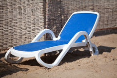 Sunbed Royalty Free Stock Photos