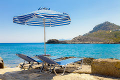 Sunbed Royalty Free Stock Images