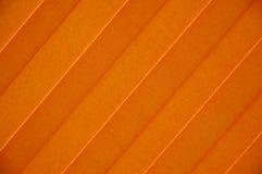 Sunblind anaranjado Fotografía de archivo