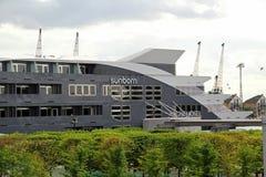 Sunborn yacht hotel Stock Photography