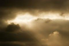 Sunbreak Stockbild