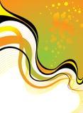 Sunburn floral vector illustration