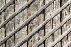 Sunburned wooden planks background Royalty Free Stock Photo