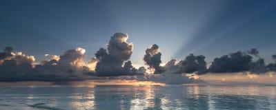 sunburst Image libre de droits