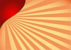 sunburst Royaltyfria Bilder