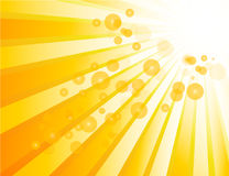Sunburst. Background for your text Stock Photography