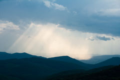 Sunburst Foto de Stock Royalty Free