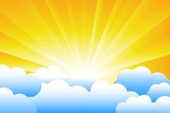 sunburst иллюстрация штока