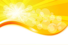 Sunburst. Background for your text Stock Photos