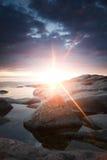 sunburst Стоковое Фото