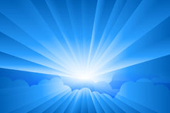 Sunburst. Background for your text Royalty Free Stock Image