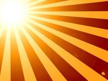 Sunburst Zdjęcia Stock
