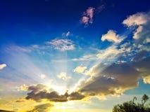 sunburst Fotografering för Bildbyråer
