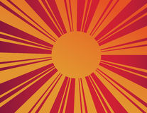 Sunburst Royalty Free Stock Photography