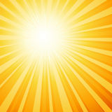 sunburst Obrazy Royalty Free