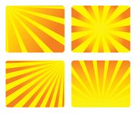 Sunburst abstract Stock Photos