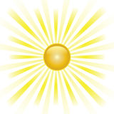 Sunburst Abstract Vector. Stock Images