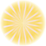 Sunburst abstract vector. Stock Photography