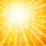 Sunburst background Stock Image