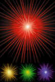 Sunburst background in colors. This file is available in s for unlimited resizes Stock Photos