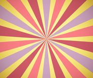Sunburst background. Vector Royalty Free Stock Photo