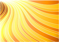Sunburst banner - sun concept Royalty Free Stock Image