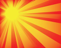Sunburst_bg4 Stock Foto