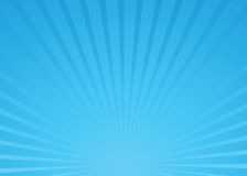 Sunburst blue vector stock illustration