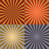 Sunburst Collection Stock Images