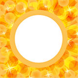 Sunburst do fundo, sunbeams Fotos de Stock Royalty Free
