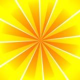Sunburst do verão ilustração royalty free