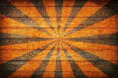 sunburst drewno Zdjęcie Royalty Free