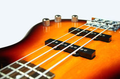 Sunburst E-Bass Royalty Free Stock Images