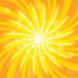 Sunburst effect Royalty Free Stock Image
