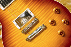 Sunburst Electric guitar Royalty Free Stock Photography