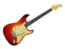 Sunburst Electric Guitar Royalty Free Stock Photos