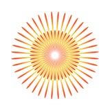 Sunburst emblem isolated icon vector illustration design. Eps 10 Stock Images