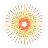 Sunburst emblem isolated icon vector illustration design. Sunburst emblem isolated icon stock vector illustration design Stock Image