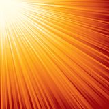 Sunburst. Eps8. Fotografia Stock