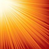 Sunburst. Eps8. Stock Photography