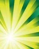 Sunburst especial (super-nova) Fotografia de Stock