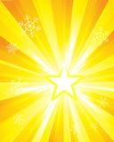 Sunburst especial (super-nova) Imagens de Stock