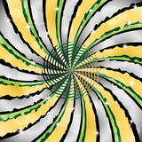 sunburst för center spiral Royaltyfria Bilder