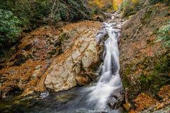 Sunburst Falls, North Carolina Stock Photography