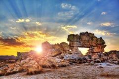 Sunburst Fenetre Royalty Free Stock Images