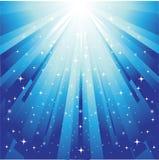 Sunburst festive background. Vector illustration of sunburst festive background Royalty Free Stock Photography