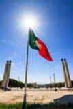 Sunburst flag Stock Images
