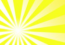 Sunburst Focus Yellow Abstract Background Wallpape Royalty Free Stock Image