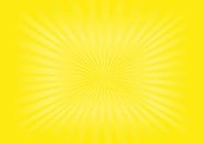 Sunburst - imagem do vetor Fotos de Stock Royalty Free